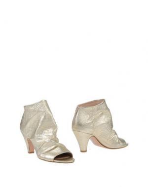 Полусапоги и высокие ботинки JEREMY-HO. Цвет: платиновый