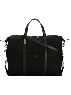Мешковатый портфель Mismo. Цвет: чёрный
