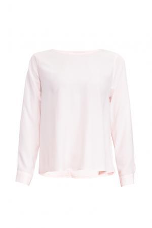Блуза из вискозы и искусственного шелка 161185 Anna Dubovitskaya. Цвет: розовый