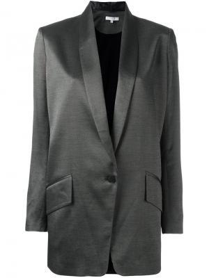 Блейзер с лацканами-шалька Iro. Цвет: чёрный
