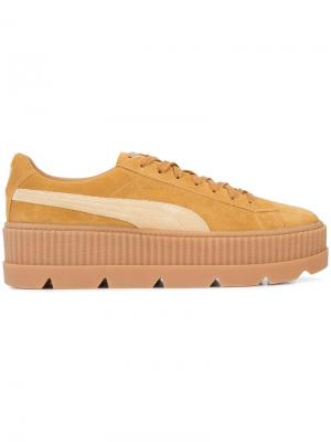 Cleated Creeper sneakers Fenty X Puma. Цвет: телесный