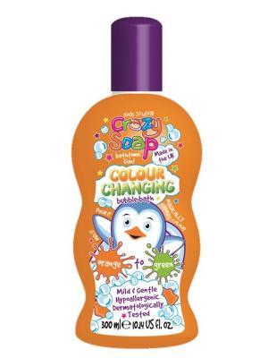Волшебная пена для ванны, меняющая цвет 300 мл Kids Stuff. Цвет: оранжевый