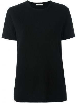 Трикотажная футболка Cashmere Boy 6397. Цвет: чёрный