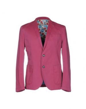 Пиджак MANUEL RITZ. Цвет: пурпурный