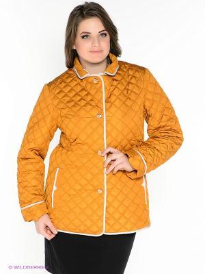 Куртка X'cluSIve. Цвет: светло-коричневый