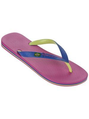Шлепанцы Ipanema. Цвет: розовый, салатовый, синий