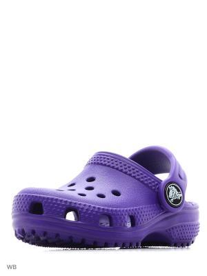 Сабо CROCS. Цвет: темно-фиолетовый