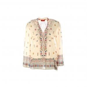 Блузка с рукавами 3/4 RENE DERHY. Цвет: телесный