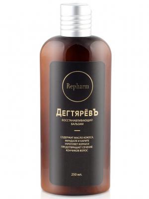 Repharm ПР0167 ДегтярёвЪ Восстанавливающий бальзам для всех типов волос 250 мл. Цвет: белый