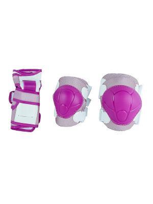 Роликовая защита COLOR MAXCITY. Цвет: розовый
