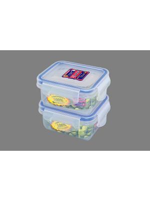 Набор 2-х герметичных контейнеров 160 мл XEONIC CO LTD. Цвет: прозрачный, синий