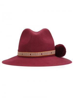 Шляпа Tanaina Yosuzi. Цвет: красный