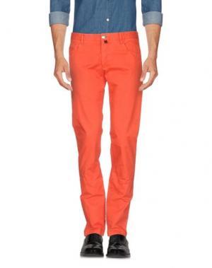 Повседневные брюки VERDERA. Цвет: красный