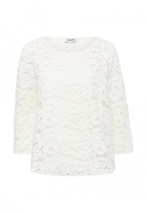 Блуза Liu Jo Jeans. Цвет: белый