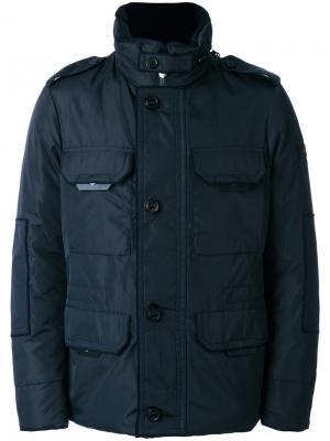 Стеганая куртка Peuterey. Цвет: синий