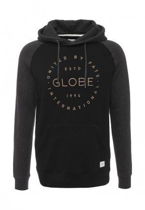 Худи Globe. Цвет: черный