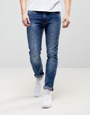 Loyalty & Faith Темно-синие эластичные джинсы скинни and. Цвет: синий