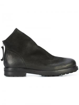 Exclusive Halmanera boots Chuckies New York. Цвет: чёрный