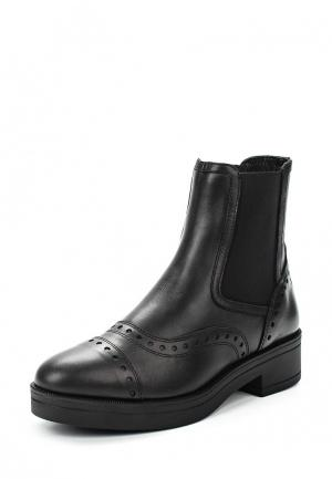 Ботинки Max&Co. Цвет: черный