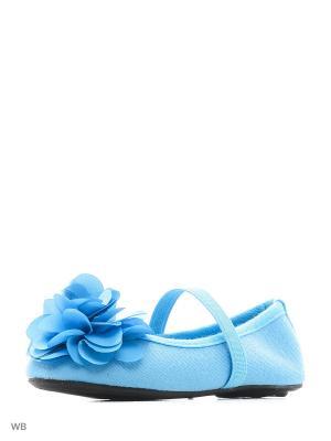 Балетки Modis. Цвет: голубой