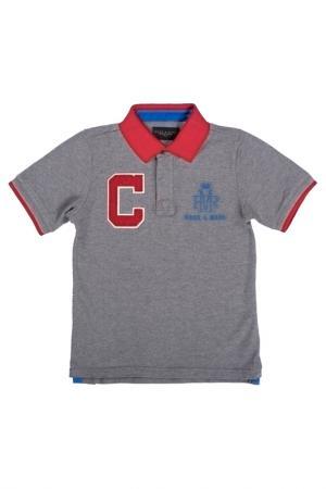 Polo t-shirt Ruck&Maul. Цвет: gray