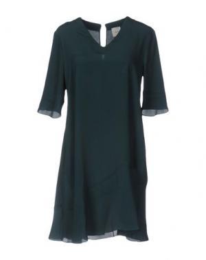 Короткое платье ...À_LA_FOIS.... Цвет: темно-зеленый
