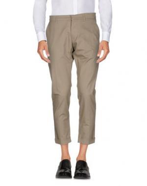 Повседневные брюки IMB I'M BRIAN. Цвет: светло-серый