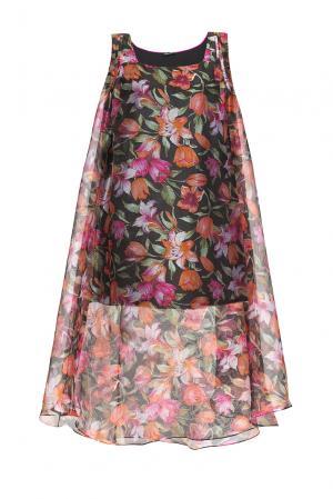 Платье из шелка 161399 Iya Yots. Цвет: разноцветный