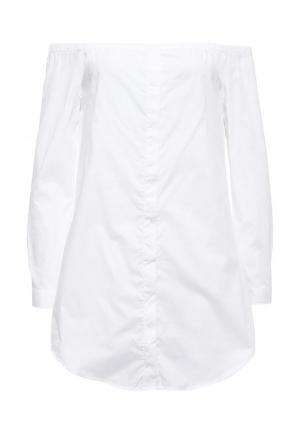 Блуза Noisy May. Цвет: белый