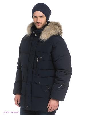 Куртка RIO VERTI. Цвет: темно-синий