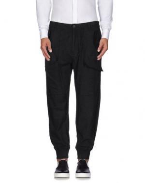 Повседневные брюки HELMUT LANG. Цвет: стальной серый