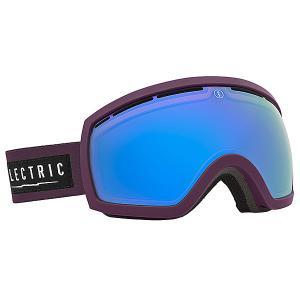 Маска для сноуборда  EG2.5 Haze Bronze/Blue Chrome Electric. Цвет: черный