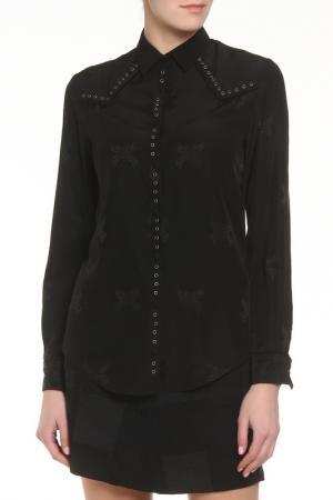 Рубашка Zadig&Voltaire. Цвет: черный
