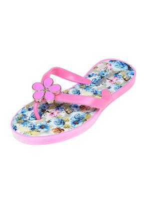 Пантолеты Migura. Цвет: розовый, синий