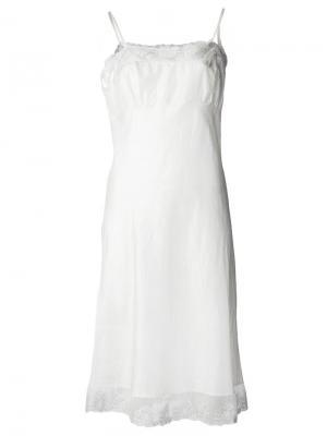 Ночная сорочка Susan Dosa. Цвет: белый