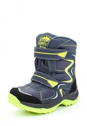Ботинки Obba. Цвет: серый