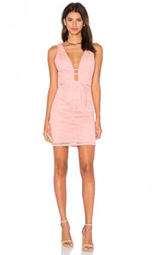 Платье give me one good reason Lumier. Цвет: персиковый