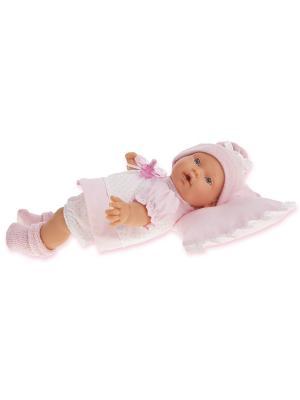 Кукла Ланита, плачущая, 27 см. Antonio Juan. Цвет: розовый