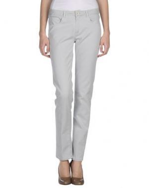 Повседневные брюки QCQC. Цвет: светло-серый