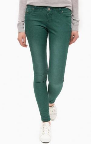 Зеленые джинсы скинни ALCOTT. Цвет: зеленый