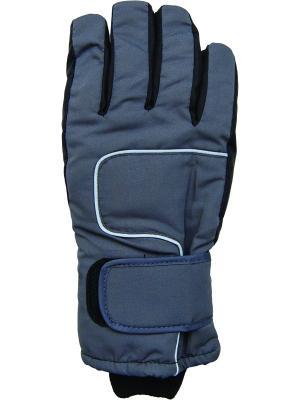 Перчатки YO!. Цвет: черный, темно-синий