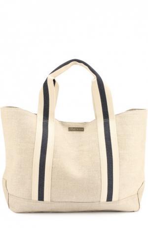 Льняная сумка Bimini Heidi Klein. Цвет: бежевый