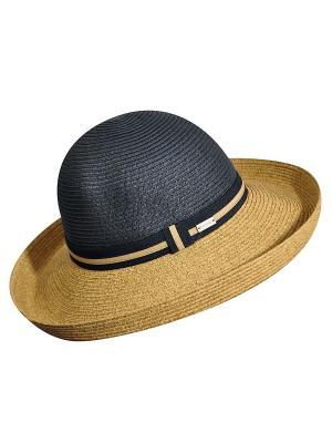 Шляпа Betmar. Цвет: бежевый, антрацитовый