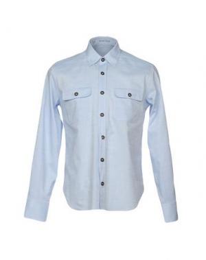 Pубашка VANGHER N.7. Цвет: небесно-голубой