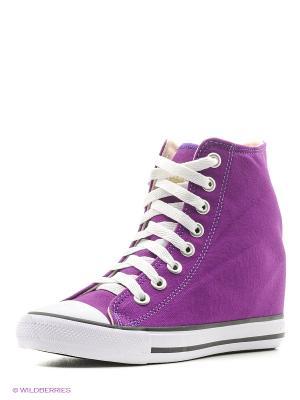 Сникеры 4U. Цвет: темно-фиолетовый