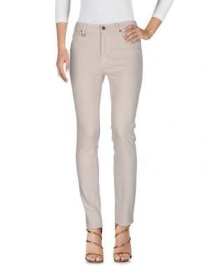 Джинсовые брюки NEUW. Цвет: бежевый