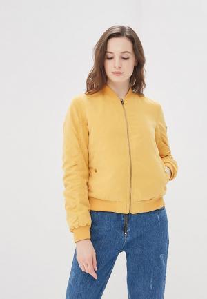 Куртка утепленная Befree. Цвет: желтый