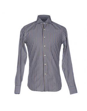 Pубашка SONRISA. Цвет: темно-коричневый