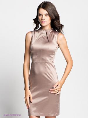 Платье Verezo. Цвет: бежевый