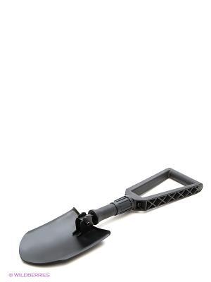 Складная лопата с чехлом Campland. Цвет: черный